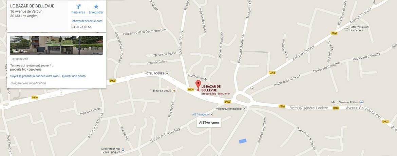 Votre itinéraire pour venir nous voir- Cliquez sur la carte